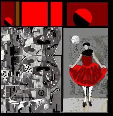 la pittura può danza