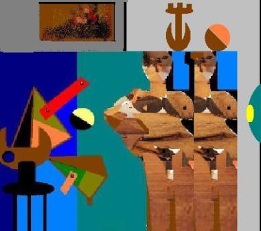 amiche cubiste