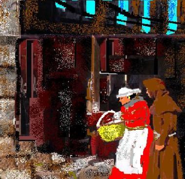 il corteggiamento nell'alto medioevo
