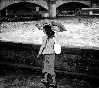 piove sulla Senna